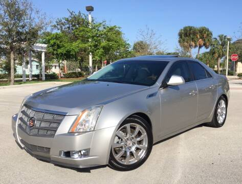 2008 Cadillac CTS for sale at FIRST FLORIDA MOTOR SPORTS in Pompano Beach FL