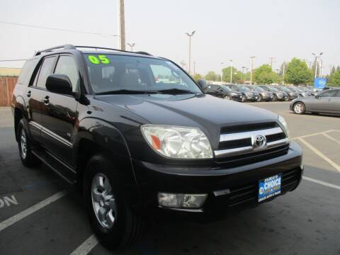 2005 Toyota 4Runner for sale at Choice Auto & Truck in Sacramento CA