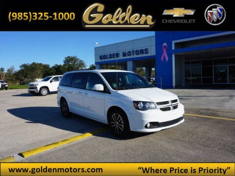 2018 Dodge Grand Caravan for sale at GOLDEN MOTORS in Cut Off LA