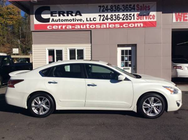 2014 Nissan Altima for sale at Cerra Automotive LLC in Greensburg PA
