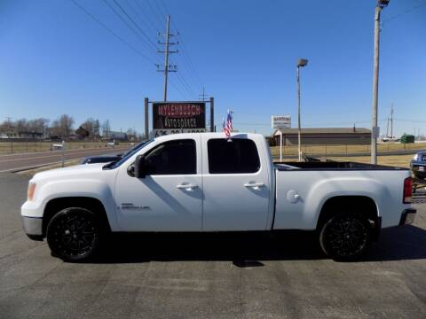 2008 GMC Sierra 2500HD for sale at MYLENBUSCH AUTO SOURCE in O` Fallon MO