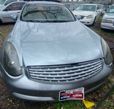 2003 Infiniti G35 for sale at Ody's Autos in Houston TX