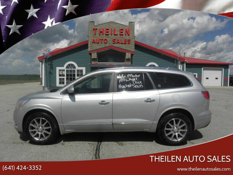 2015 Buick Enclave for sale at THEILEN AUTO SALES in Clear Lake IA