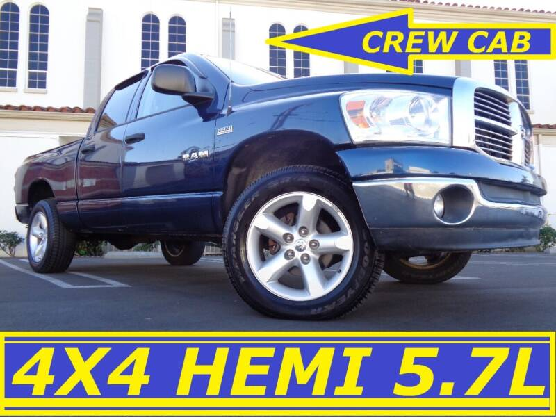 2008 Dodge Ram Pickup 1500 for sale at ALL STAR TRUCKS INC in Los Angeles CA