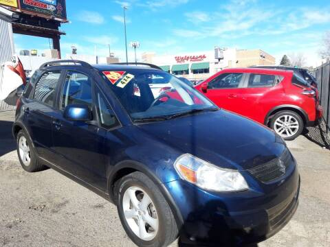 2008 Suzuki SX4 Crossover for sale at Sanaa Auto Sales LLC in Denver CO