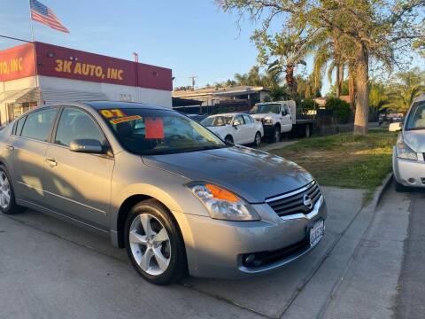 2007 Nissan Altima for sale at 3K Auto in Escondido CA