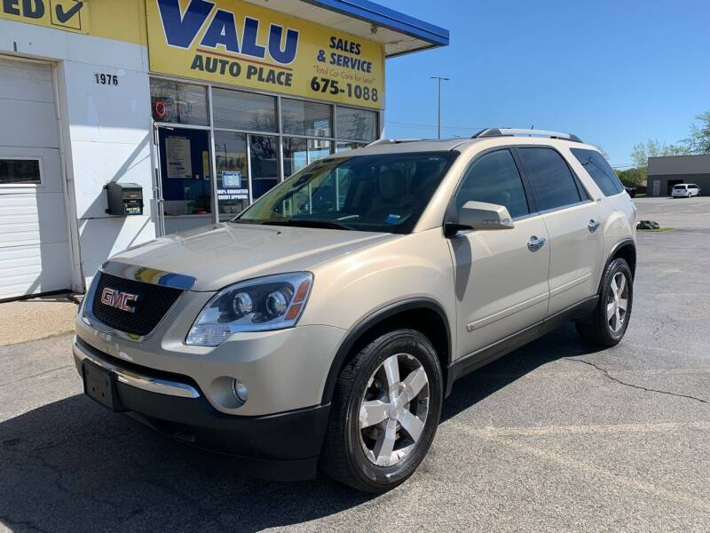 2010 GMC Acadia for sale at Valu Auto Center in West Seneca NY