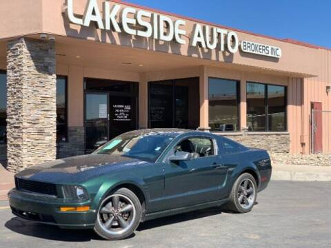 2008 Ford Mustang for sale at Lakeside Auto Brokers in Colorado Springs CO