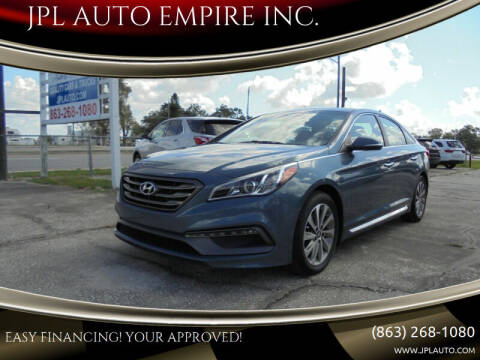 2015 Hyundai Sonata for sale at JPL AUTO EMPIRE INC. in Auburndale FL