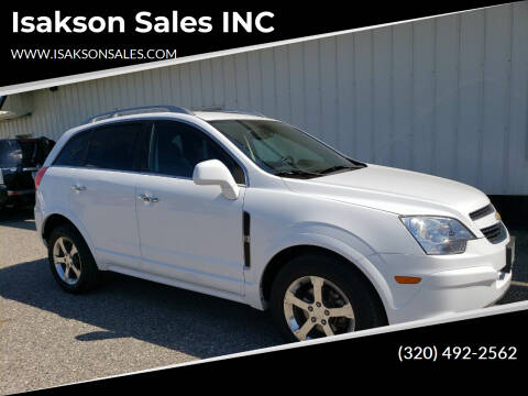 2013 Chevrolet Captiva Sport for sale at Isakson Sales INC in Waite Park MN