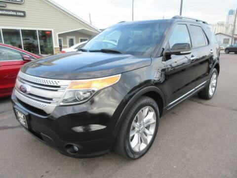 2015 Ford Explorer for sale at Dam Auto Sales in Sioux City IA