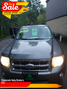2010 Ford Escape for sale at Shamrock Auto Brokers, LLC in Belmont NH