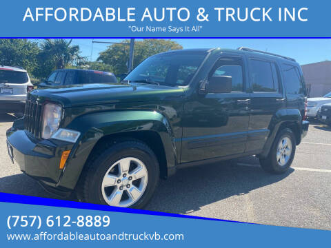 2011 Jeep Liberty for sale at AFFORDABLE AUTO & TRUCK INC in Virginia Beach VA