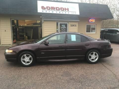 2002 Pontiac Grand Prix for sale at Gordon Auto Sales LLC in Sioux City IA