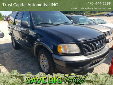 2000 Ford Expedition for sale at Trust Capital Automotive Inc. in Covington GA