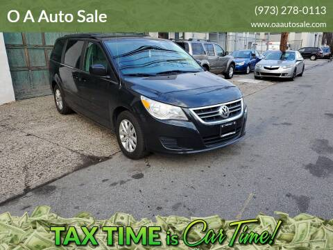 2012 Volkswagen Routan for sale at O A Auto Sale in Paterson NJ