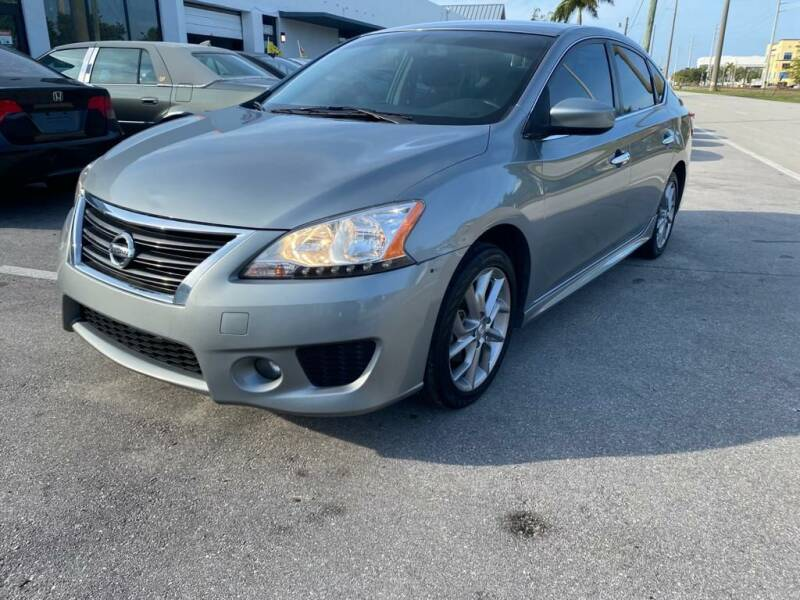 2013 Nissan Sentra for sale at UNITED AUTO BROKERS in Hollywood FL
