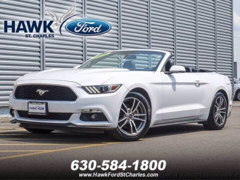 2016 Ford Mustang for sale at Hawk Ford of St. Charles in Saint Charles IL