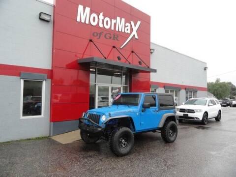 2011 Jeep Wrangler for sale at MotorMax of GR in Grandville MI