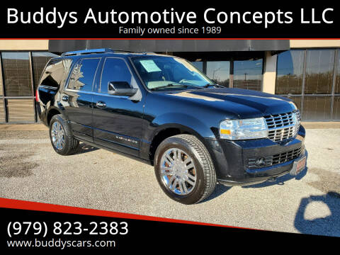 2009 Lincoln Navigator for sale at Buddys Automotive Concepts LLC in Bryan TX