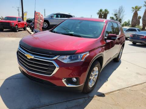 2019 Chevrolet Traverse for sale at A AND A AUTO SALES in Gadsden AZ