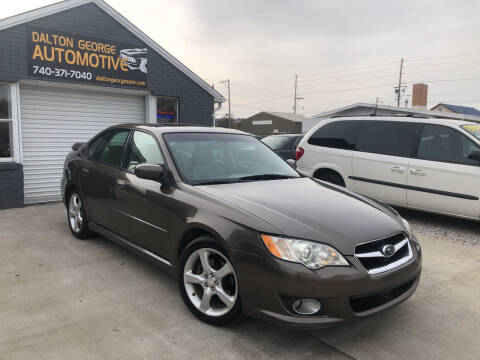 2008 Subaru Legacy for sale at Dalton George Automotive in Marietta OH