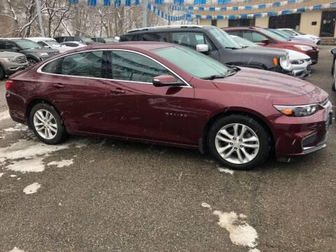 2016 Chevrolet Malibu for sale at Matt Jones Preowned Auto in Wheeling WV