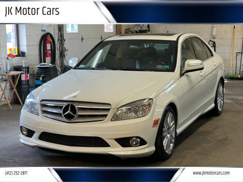 2009 Mercedes-Benz C-Class for sale at JK Motor Cars in Pittsburgh PA