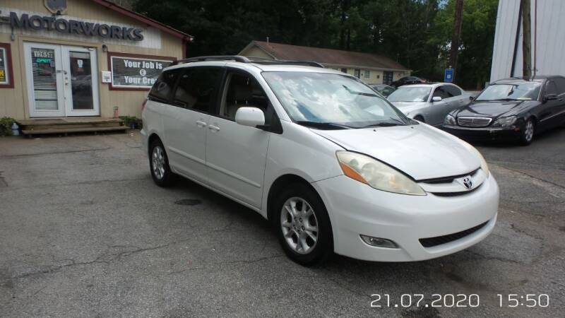 2006 Toyota Sienna for sale at E-Motorworks in Roswell GA