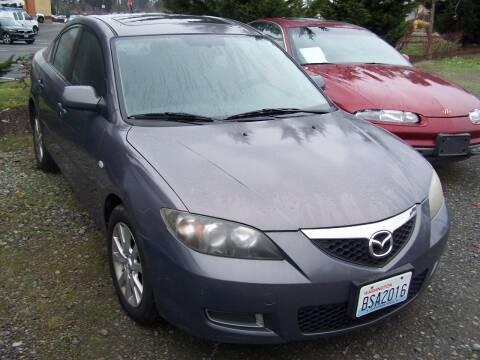 2007 Mazda MAZDA3 for sale at M & M Auto Sales LLc in Olympia WA