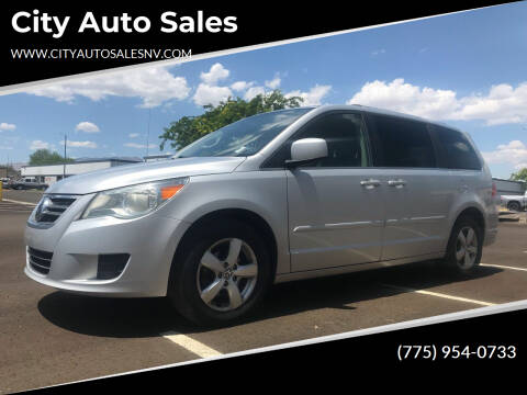 2011 Volkswagen Routan for sale at City Auto Sales in Sparks NV