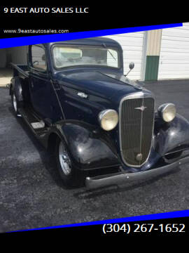 1936 Chevrolet Streetrod Pickup for sale at 9 EAST AUTO SALES LLC in Martinsburg WV