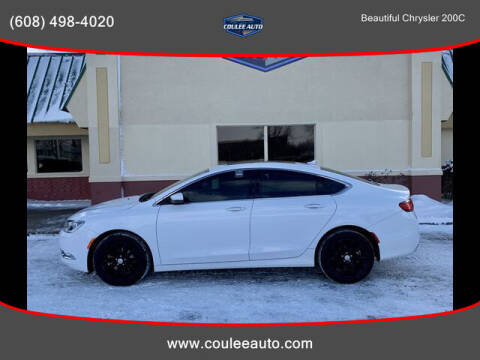 2016 Chrysler 200 for sale at Coulee Auto in La Crosse WI