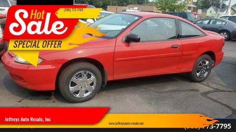 2003 Chevrolet Cavalier for sale at Jeffreys Auto Resale, Inc in Clinton Township MI