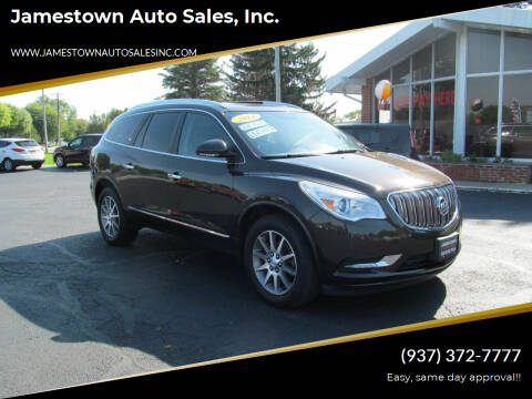 2014 Buick Enclave for sale at Jamestown Auto Sales, Inc. in Xenia OH