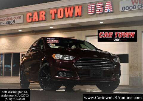 2013 Ford Fusion for sale at Car Town USA in Attleboro MA