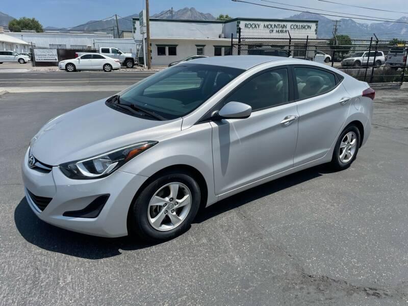 2015 Hyundai Elantra for sale at New Start Auto in Richardson TX