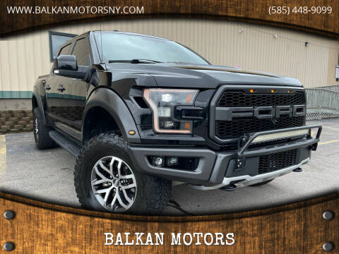 2018 Ford F-150 for sale at BALKAN MOTORS in East Rochester NY