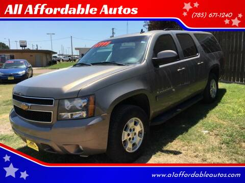 2007 Chevrolet Suburban for sale at All Affordable Autos in Oakley KS