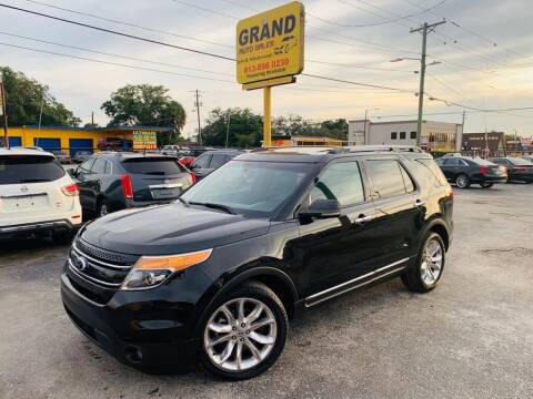 2011 Ford Explorer for sale at Grand Auto Sales in Tampa FL