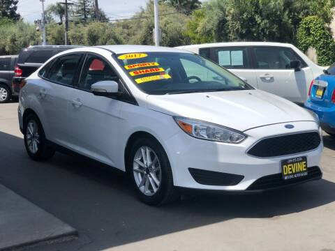 2017 Ford Focus for sale at Devine Auto Sales in Modesto CA