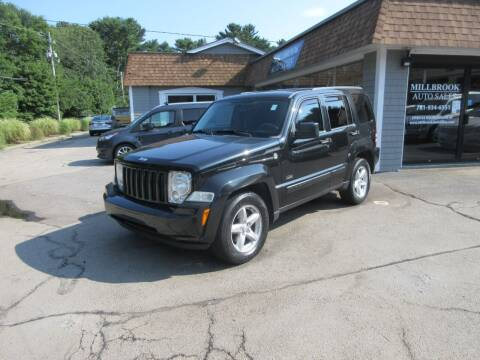 2009 Jeep Liberty for sale at Millbrook Auto Sales in Duxbury MA