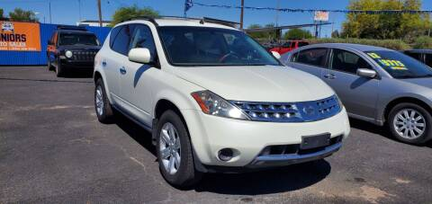 2007 Nissan Murano for sale at Juniors Auto Sales in Tucson AZ