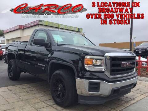 2014 GMC Sierra 1500 for sale at CARCO SALES & FINANCE #3 in Chula Vista CA