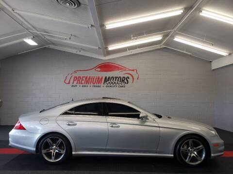 2006 Mercedes-Benz CLS for sale at Premium Motors in Villa Park IL