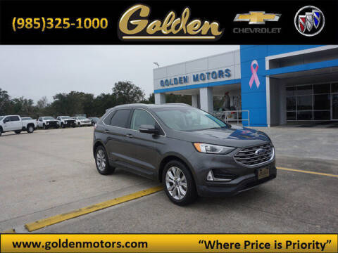 2019 Ford Edge for sale at GOLDEN MOTORS in Cut Off LA