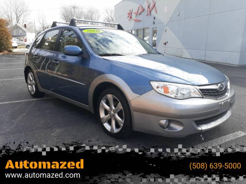 2008 Subaru Impreza for sale at Automazed in Attleboro MA