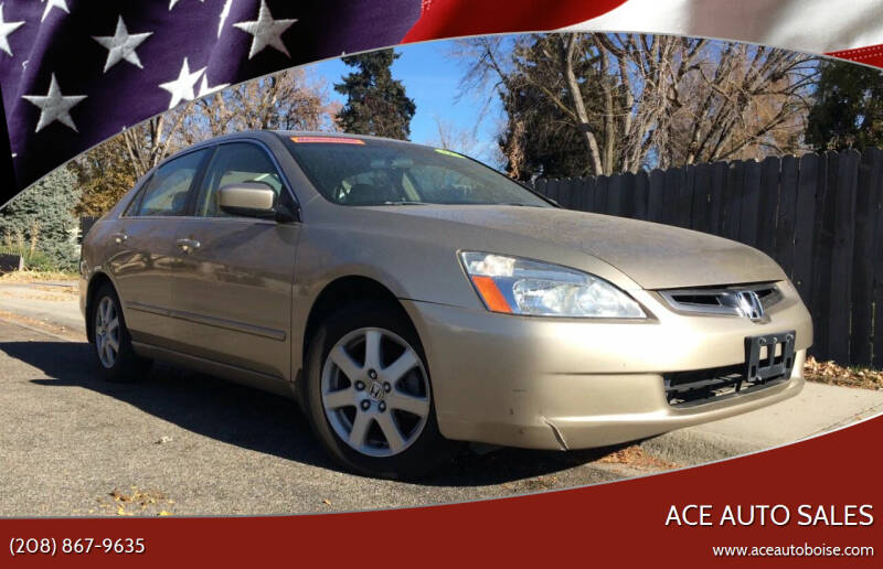 2005 Honda Accord for sale at Ace Auto Sales in Boise ID