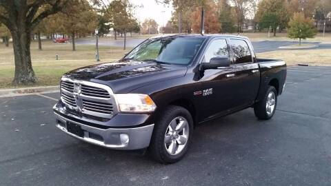 2015 RAM Ram Pickup 1500 for sale at DALE GREEN MOTORS in Mountain Home AR