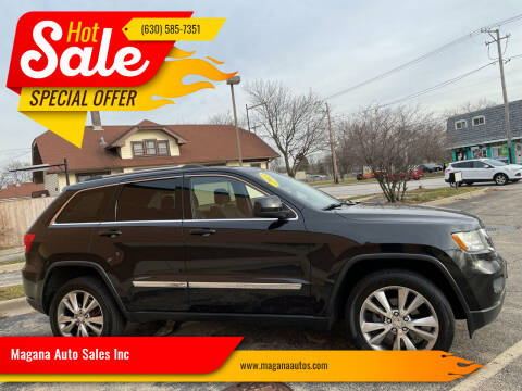 2013 Jeep Grand Cherokee for sale at Magana Auto Sales Inc in Aurora IL